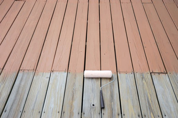 deck painting in White Plains