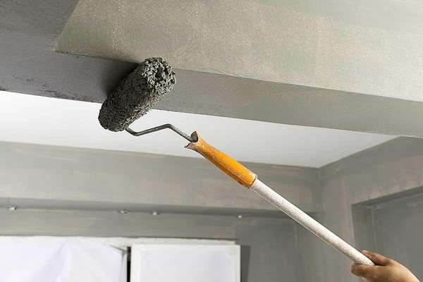 ceiling painting by professionals