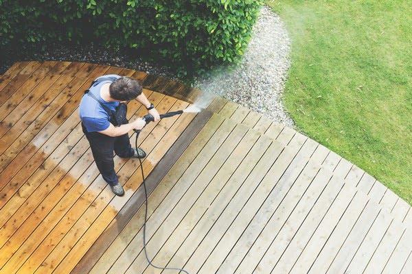 deck power washing